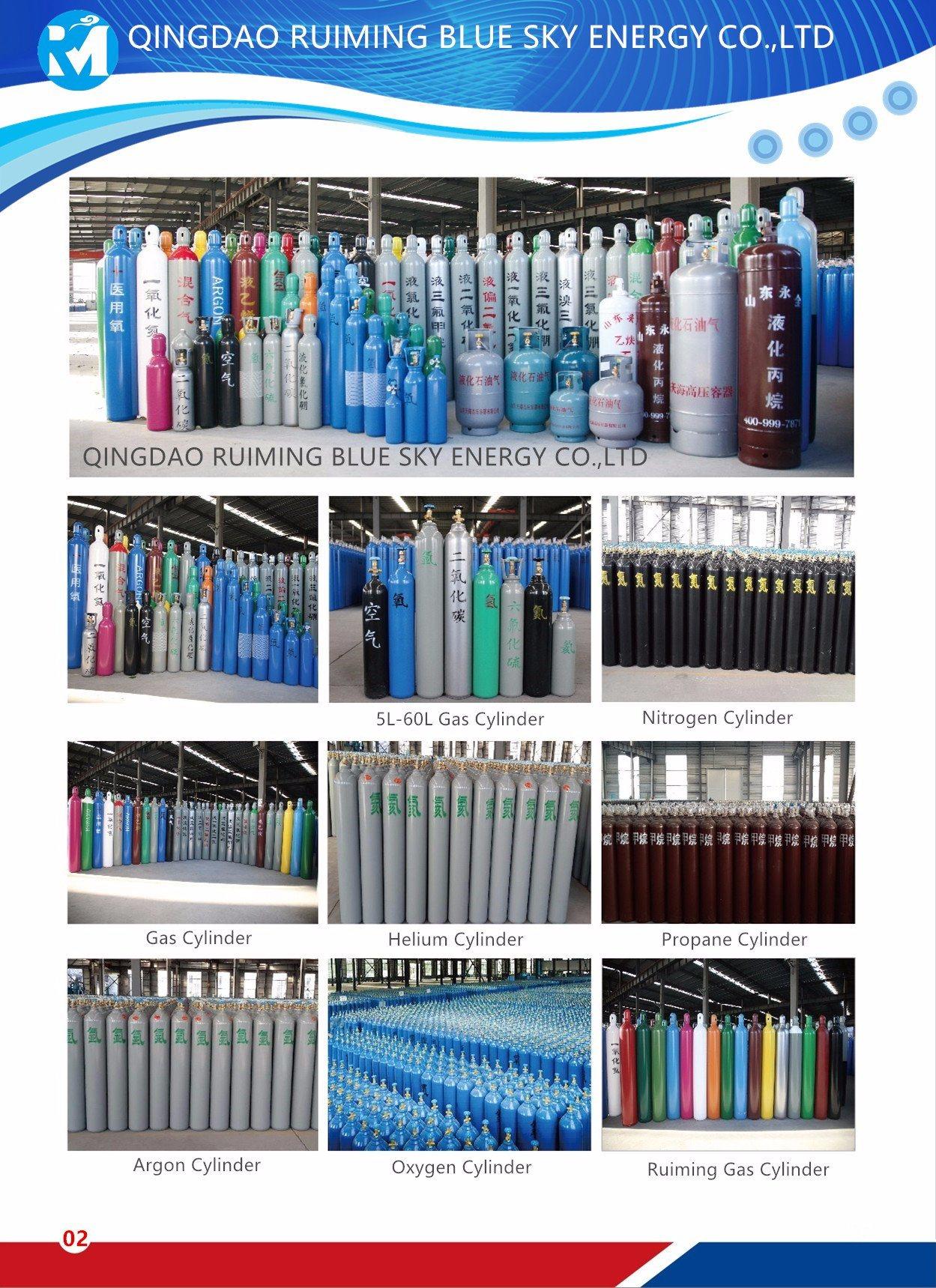Industrial Gas Cylinder Oxygen Gas