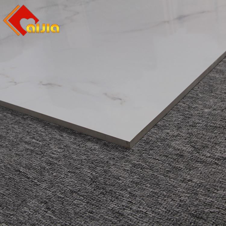 New Model Polished Glazed Porcelain Carrara Marble Floor Tiles For