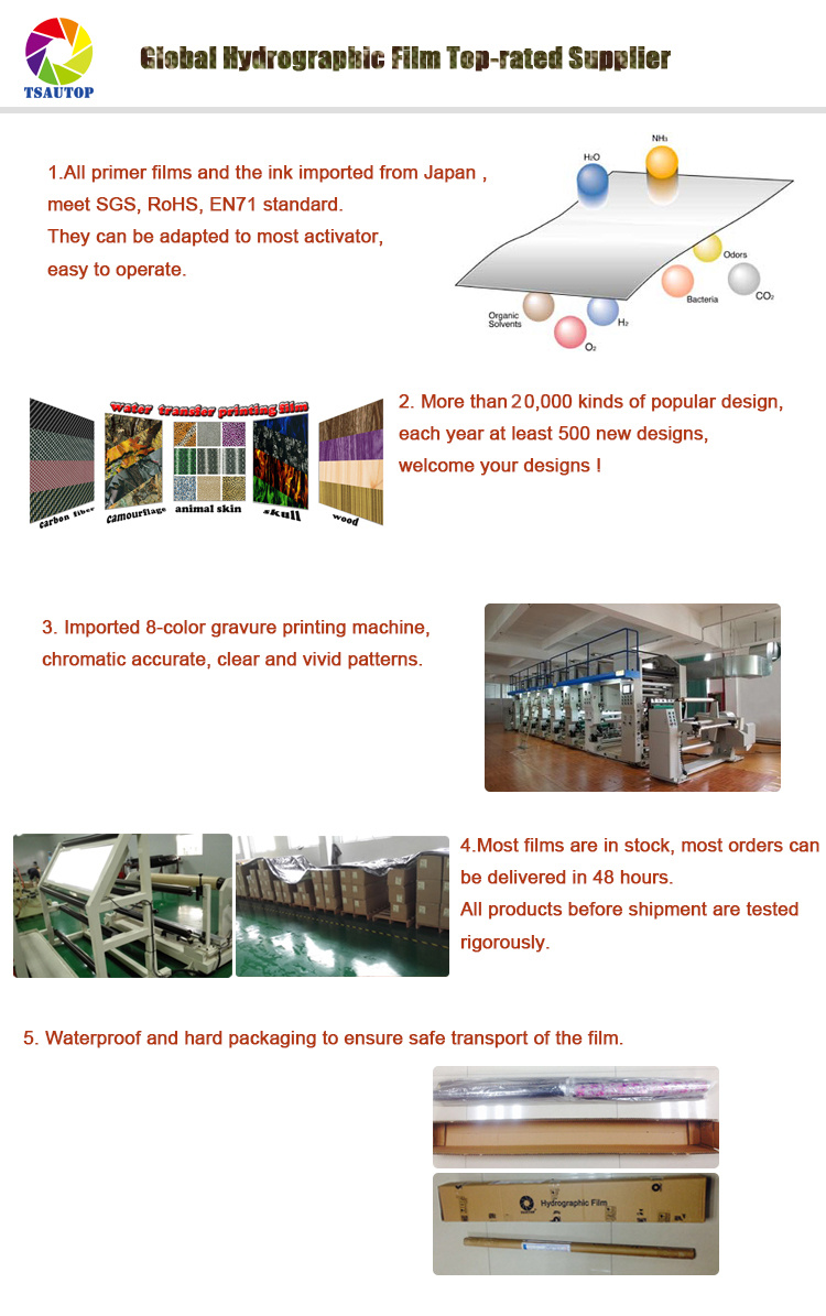 Tsautop 05 1m Width Carbon Fiber Water Transfer Printing China Film Related Patterns Catalog