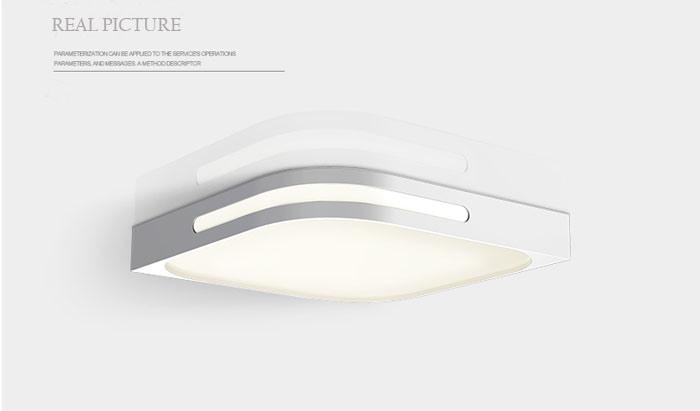 Plafoniere Led A Soffitto Moderno Dimmerabile : Camera da letto stanza di studio contemporanee domestiche montate