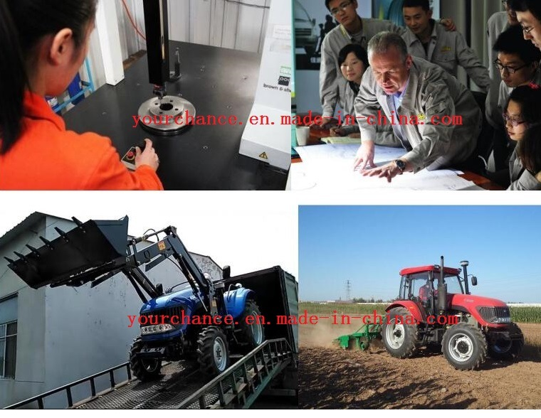 High Quality Dq554 55HP 4WD Cheap Agricultural Wheel Farm Tractor with Canopy Hot Sale in South Africa