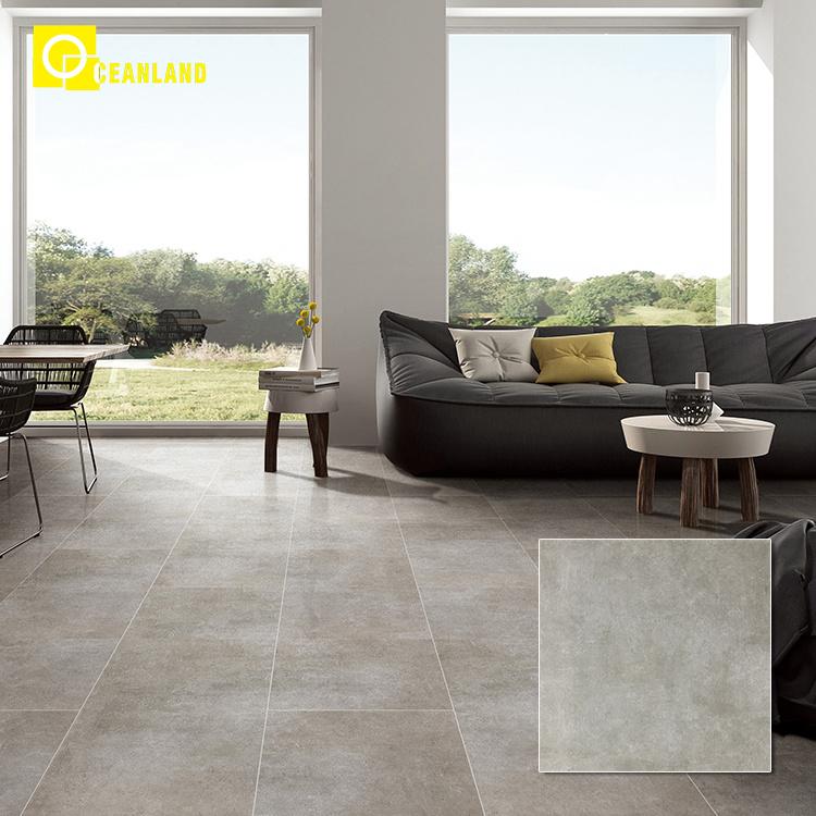 Living Room Floor 60x60 Tiles Grey Wood, Tile Living Room Floors