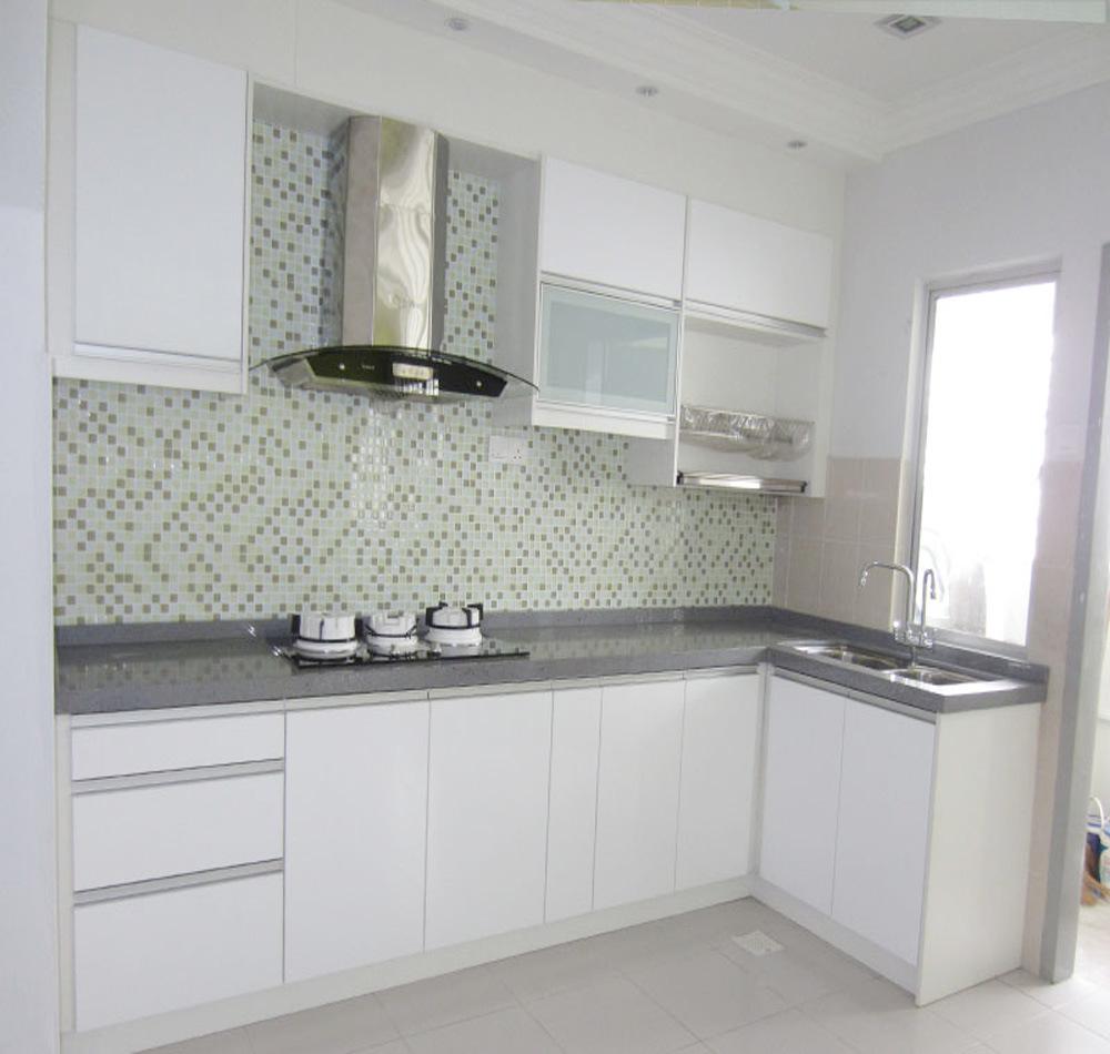 Kitchen Design Uv: Pole Island Style High Gloss UV Kitchen