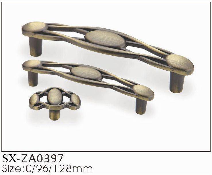 Hot Classical Hollowing Out, Antique Bronze Kitchen Cabinet Hardware