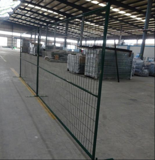 Canada 6FT*9.5FT Outdoor Temporary Construction Fence/Temporary Fence Panel/Temporary Fence
