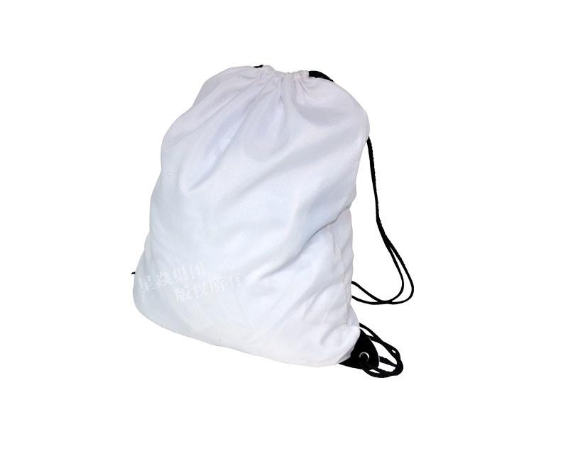 Saco de poliéster sublimação em branco saco para roupa suja –Saco de ... f8b0544f426f8