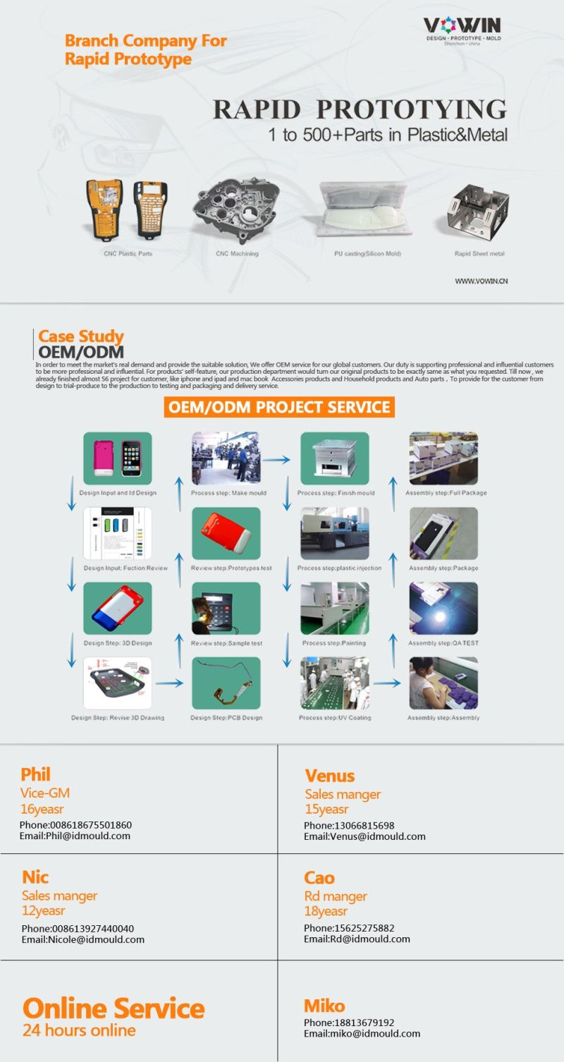 ISO 14001: 2008 D&B Certification EPP Foam Injection Mould