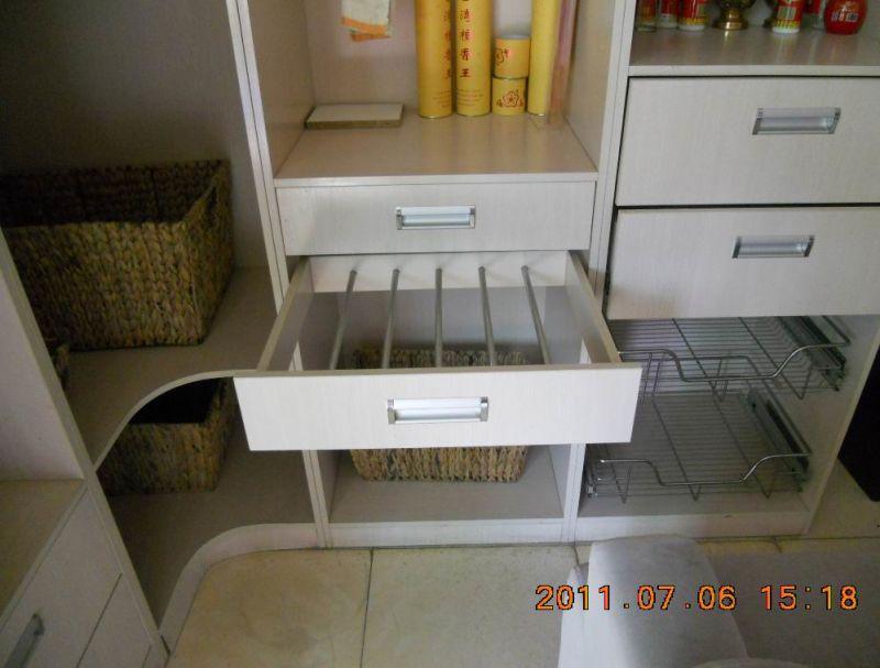 Mdf avec armoires de cuisine en placage de bois for Placage porte cuisine