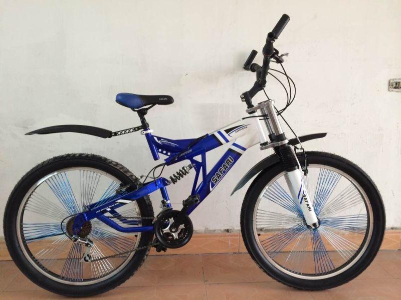 Bicicleta de montaña con suspensión trasera M013. – Bicicleta de ...