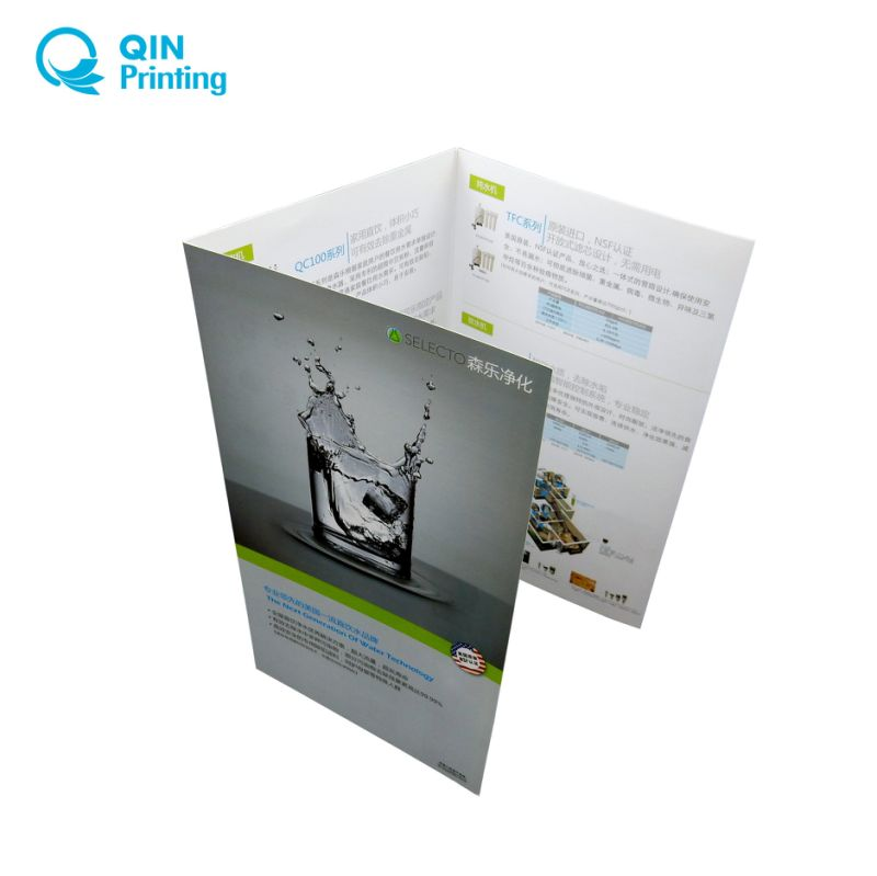 china full color tri folded leaflet flyer printing china tri fold