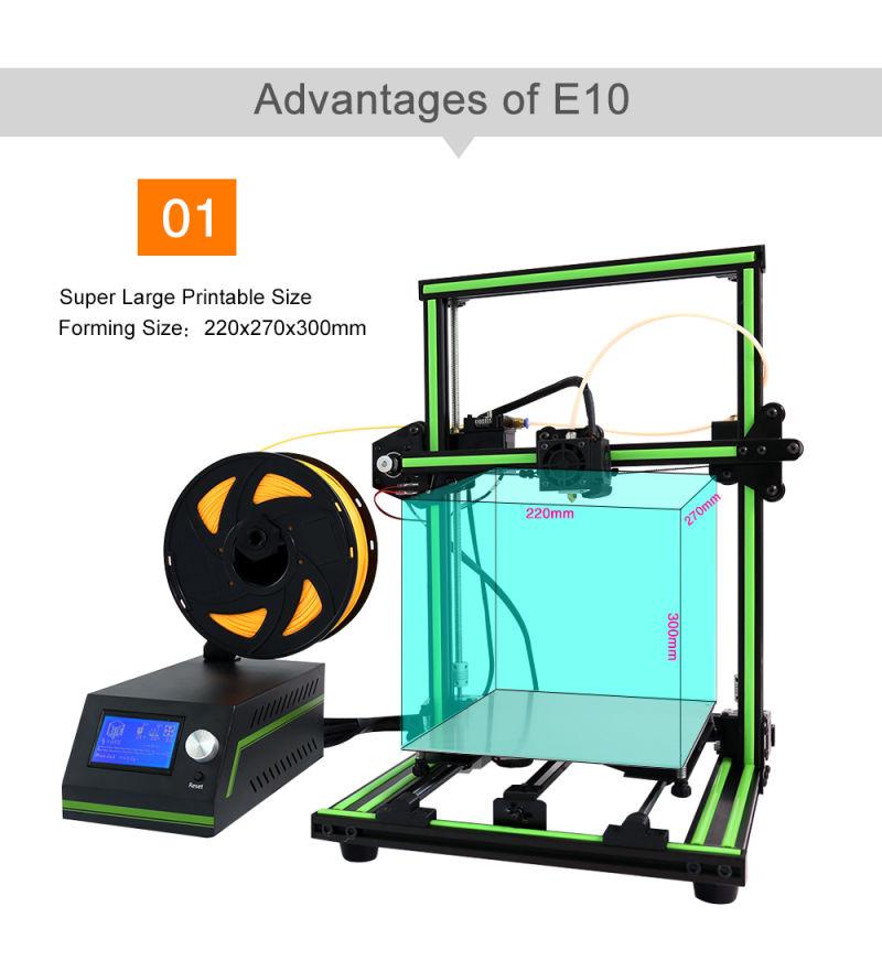 anet e10 le prototypage rapide des imprimantes et imprimante 3d de haute pr cision anet e10 le. Black Bedroom Furniture Sets. Home Design Ideas