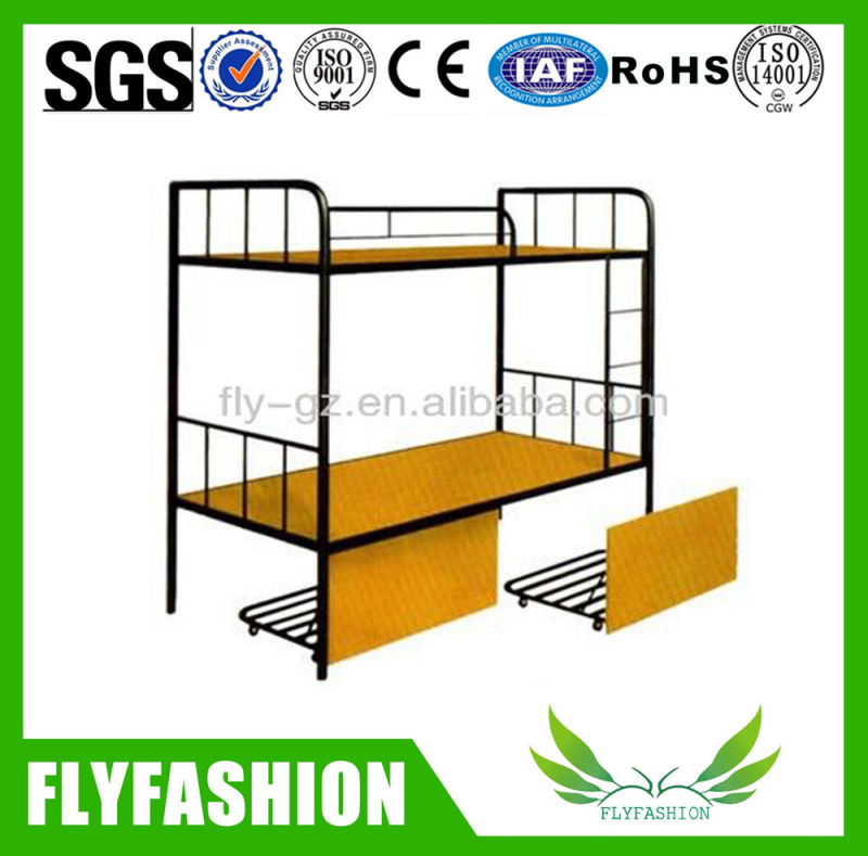 Muebles de dormitorio estudiantil doble camas de metal para la venta ...