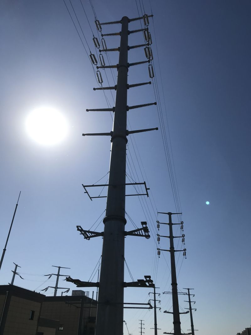 High-Quality and Hot Sale Galvanized Steel Tube Power Transmission Line Tower