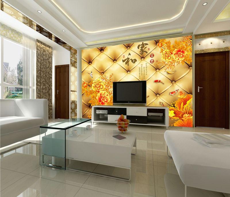 China Printable Latest Home Decoration Wallpaper - China Digital ...