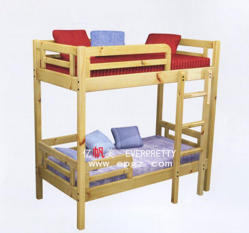 Los niños Litera de madera para muebles de dormitorio, vivero ...
