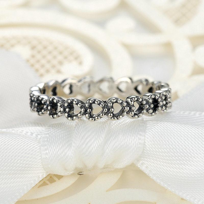 China Women White Gold Rings Jewelry Sterns Wedding Rings - China ...