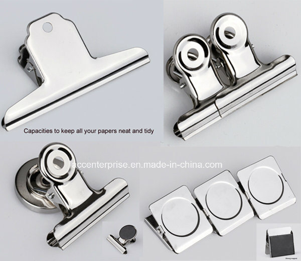 China Silver Flat Metal Spring Clip, Metal Letter Clip, Silver ...