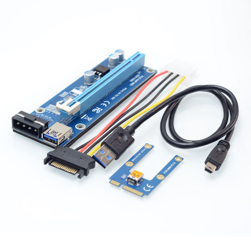 China Mini Pcie To Pci Express 16x Riser 006s For External