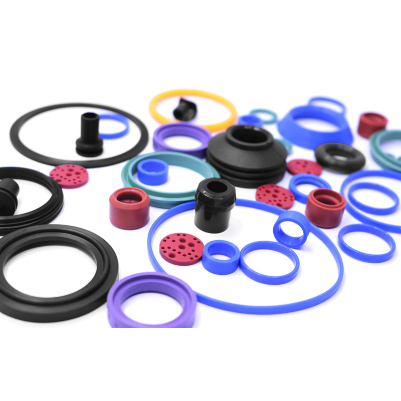 China Round Flat Silicone Rubber Gasket - China Rubber Gasket ...