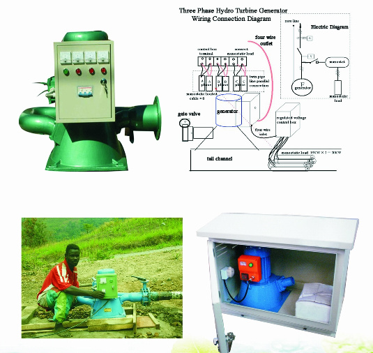 China Micro Water Turbines for Sale / Micro Water Turbine