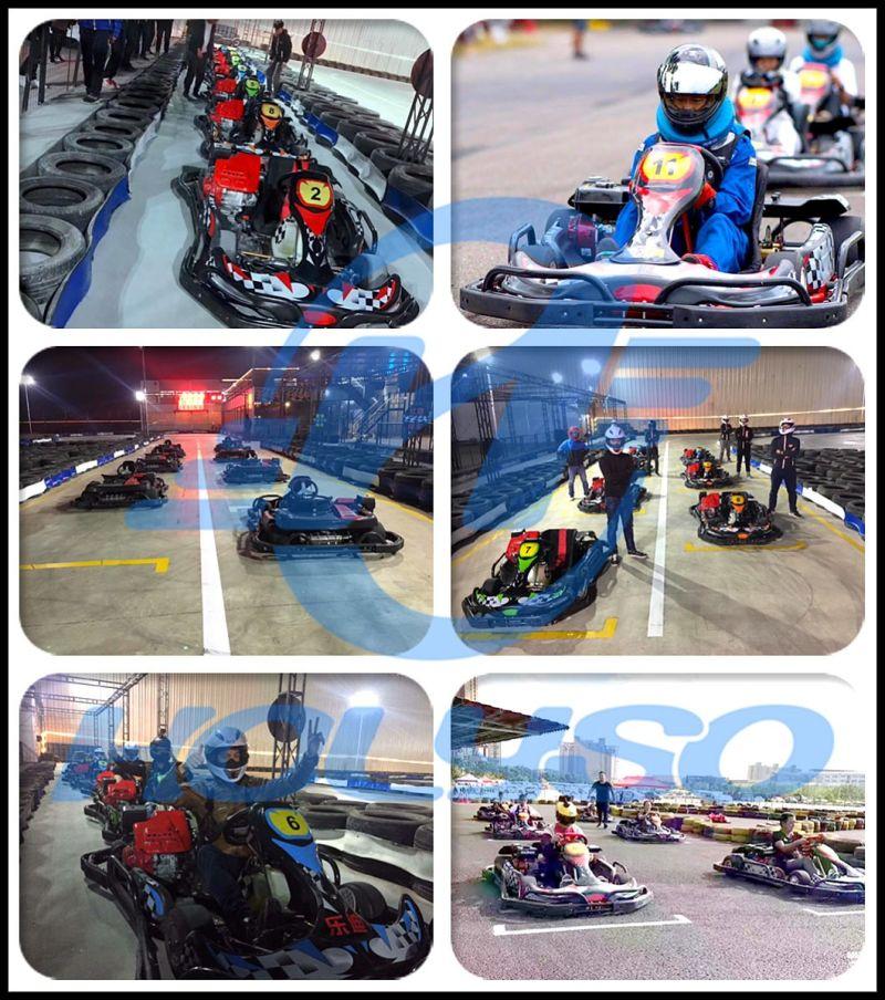 200cc 4 Adultos de alta velocidad de carrera de karts de carreras de ...