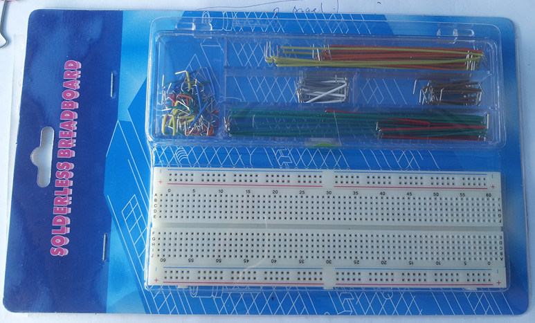 China 830 Points Breadboard with 140 PCS Jumper Wire - China ...