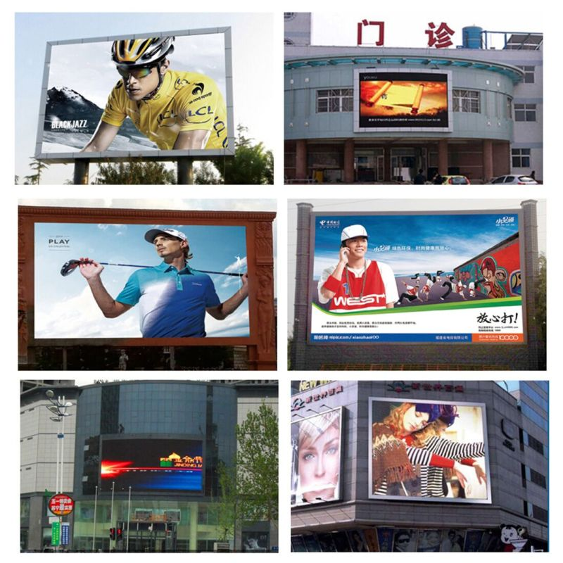 Wireless Control Outdoor RGB P10mm SMD3535 Wide-Angle LED Sign