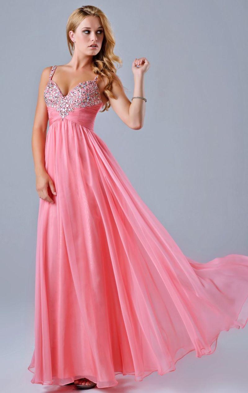 Partido de gasa vestido de baile vestido Vestidos Diamante rebordear ...