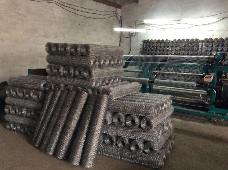 Hierro galvanizado de malla de alambre hexagonal hierro - Mallas de hierro ...