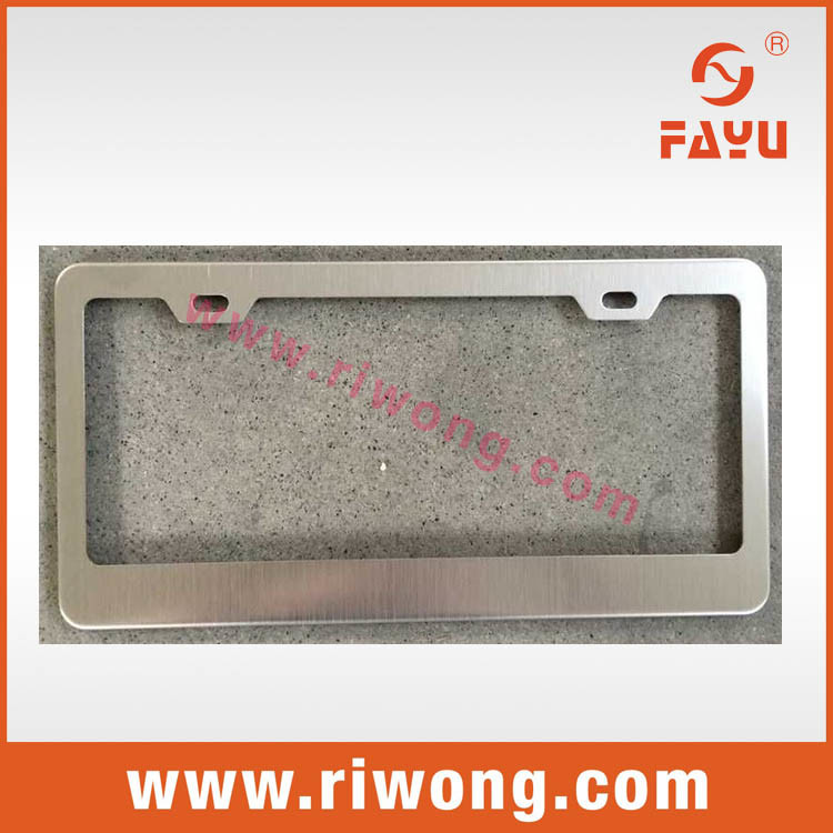 China Blank License Plate Frame Wholesale - China License Plate ...