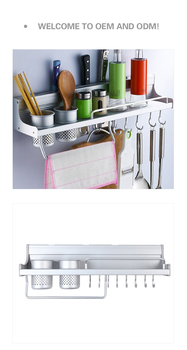 China Utensil Hanging Rail Rack Storage Stand Kitchen Utensils Wall ...