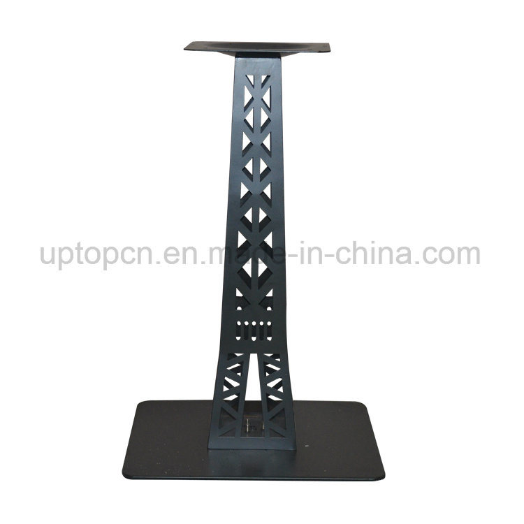 Beau Cast Iron Table Leg With Special Eiffel Tower Shape For Restaurant Furniture  Table Top (SP
