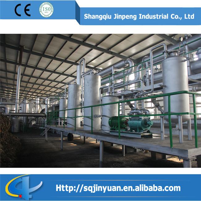 China Continious Distillation Plant to Refine Sluge, Used Engine Oil