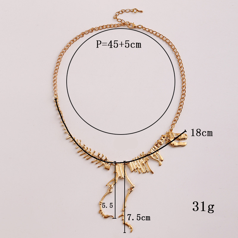 China Dinosaur Skeleton Pendant Necklace, Latest Design Necklace ...