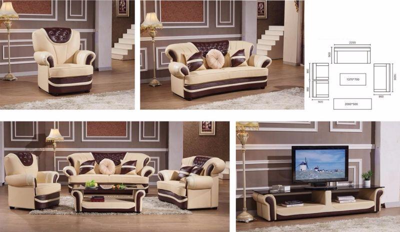 Sofá de cuero determinado de Miami de los muebles de oficinas con el ...