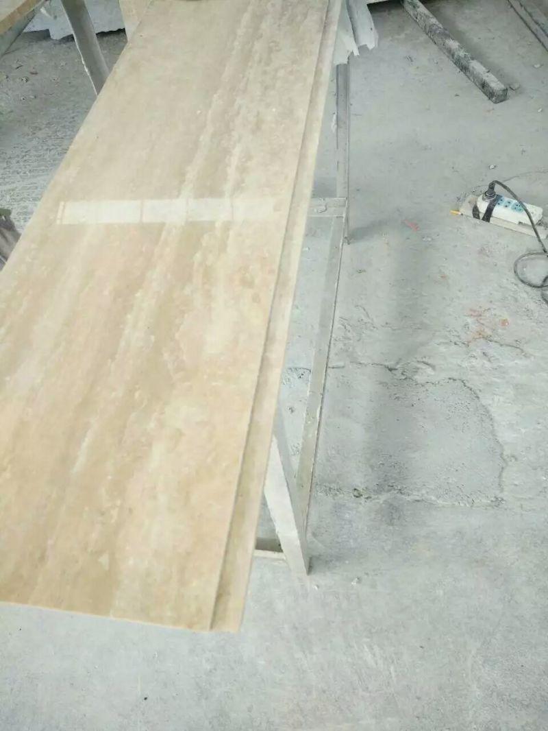 vente en gros mat riaux de construction travertine tile travertine super blanc vente en gros. Black Bedroom Furniture Sets. Home Design Ideas