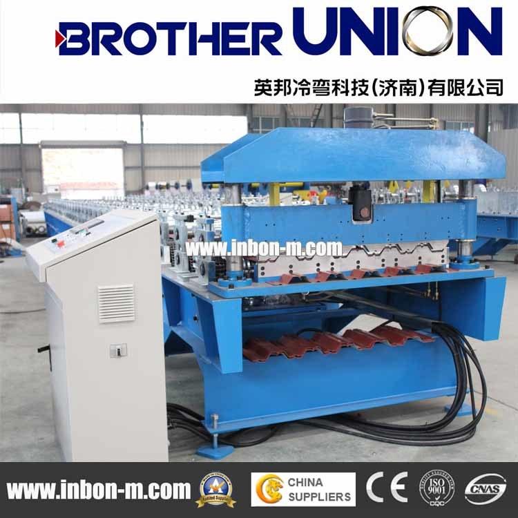 China Metal Decking Floor Tile Making Machinery China Metal