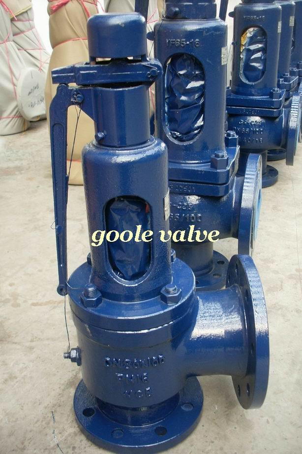 Spring Loaded Full Lift Steam Pressure Safety Relief Valve