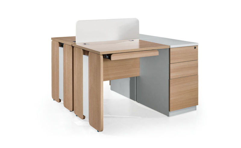 Mobilier de bureau moderne en bois simple ordinateur de bureau