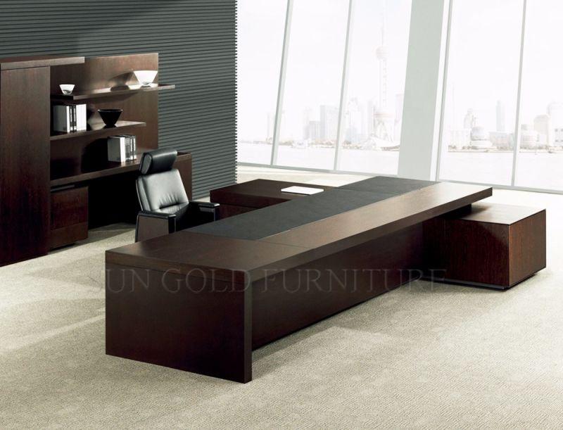 Haute qualité luxe foshan table office bureau exécutif de meubles de