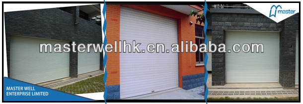 China Electrical Garage Roller Door Rolling Shutter Doorremote