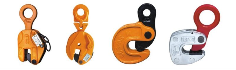 China steel plate vertical lifting clamp hardware