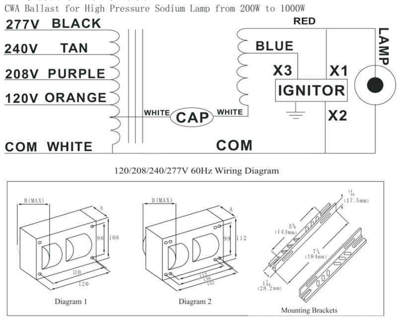 great lamp ballast for sodium lamp w with sodium lamp diagram