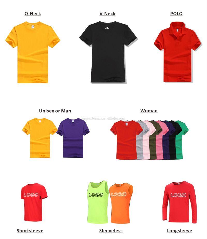 T t for Custom full color t shirt printing