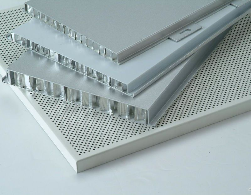 Panel sandwich panel de nido de abeja de aluminio para for Panel sandwich aluminio