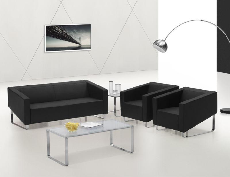 Usine direct canapé en cuir de mobilier de bureau moderne défini