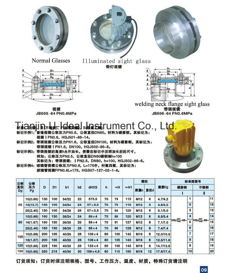 China pipe fittings cross welded tubular sight glass