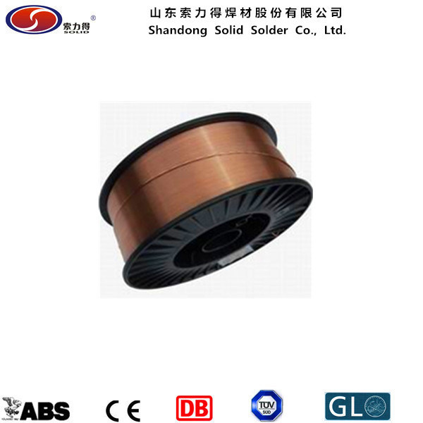 China D270 Plastic Spool CO2 Wire/MIG Welding Wire Er70s-6 - China ...