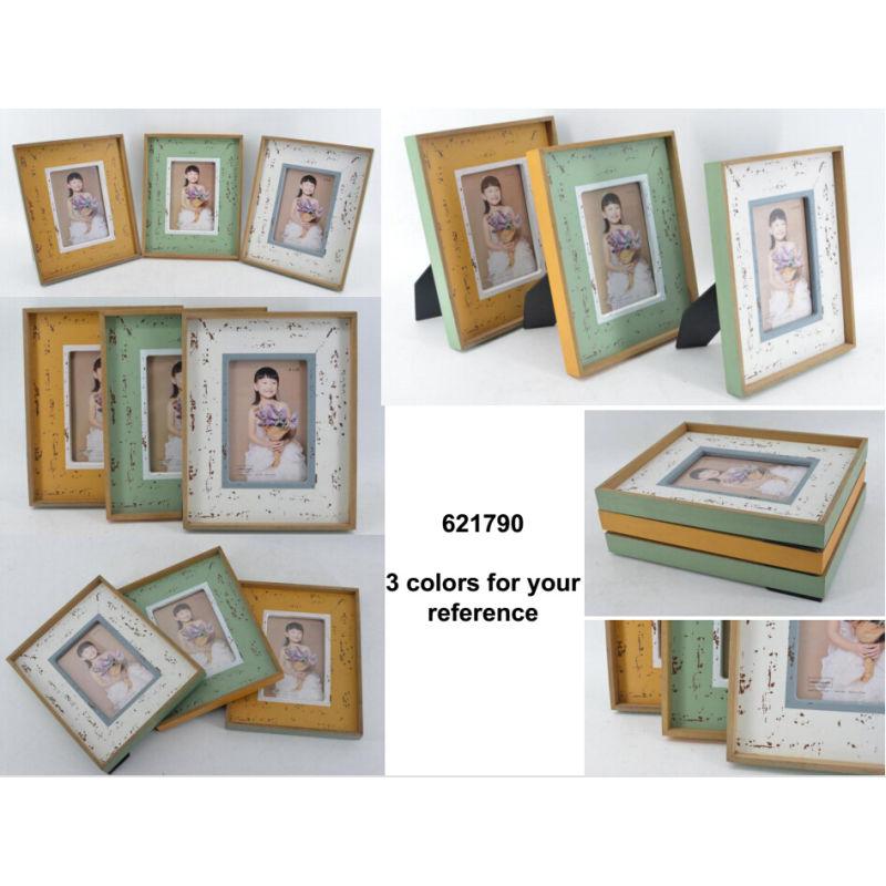 El marco de fotos de marina de madera para la decoración del hogar ...