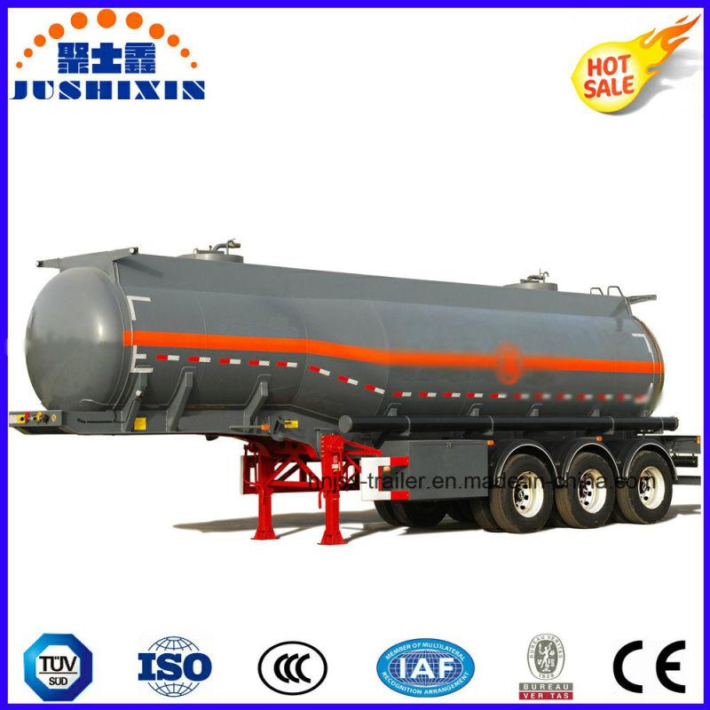 3 ejes 33000L tanque de acero al carbono/camión cisterna semi ...
